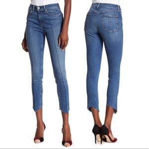 rag & bone High Rise Ankle Skinny Pointed Jeans
